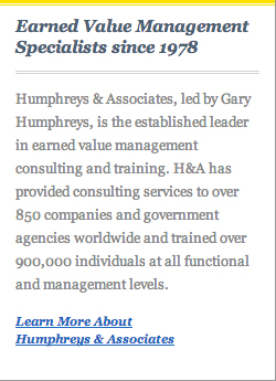 Earned Value Management Specialists since 1978